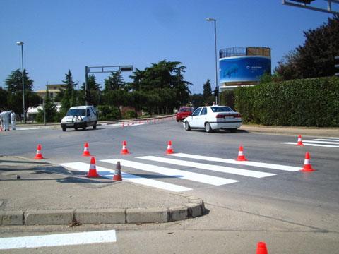 Obnova horizontalne signalizacije na prometnicama u gradu
