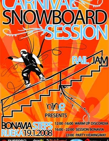 Carnival Snowboard Session