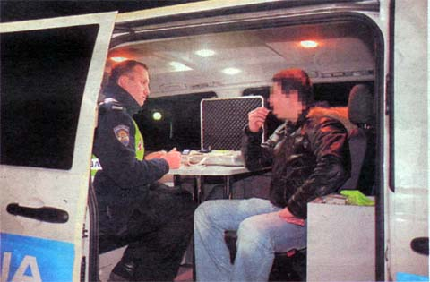 """Dva vozača pozitivna na drogu, a jedan """"pao"""" s 2,19 promila alkohola"""