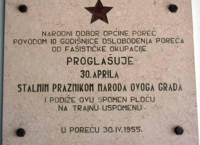 Program povodom Dana oslobođenja grada Poreča