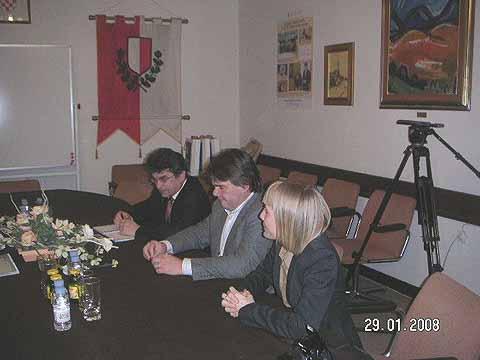 Župan i gradonačelnik u Poreču primili predstavnike Njemačke Visoke škole jahanja