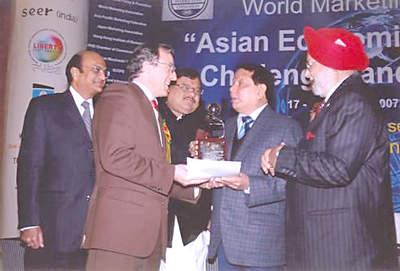 NEW DELHI: Nagrada veleposlaniku