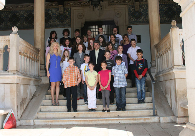 Gradonačelnik primio nagrađene učenike OGŠ Slavko Zlatić