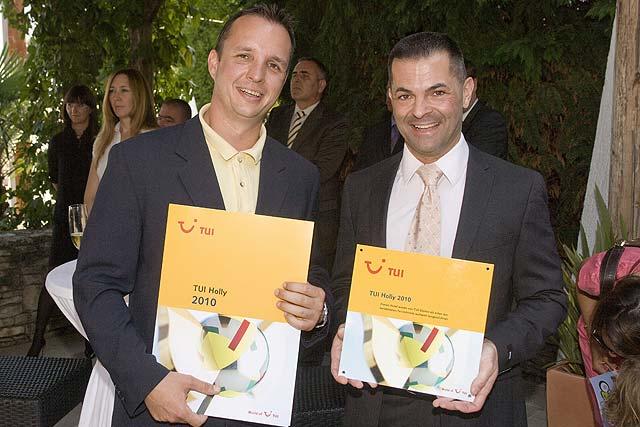 Dodijeljena prestižna TUI Holly 2010 nagrada za Valamar Club Tamaris and Valamar Tamaris Residence