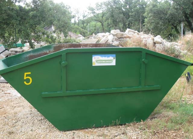 Akcija prikupljanja i odvoza krupnog otpada u Funtani od 16. do 19. svibnja