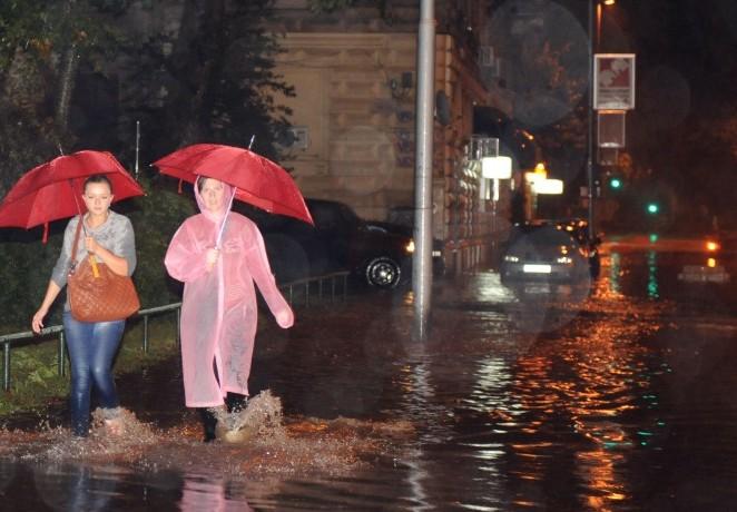 Povijesna kiša u Rijeci, palo 220 mm!