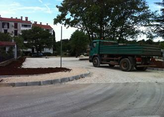 Novo parkiralište u ulici Rajka Stipe