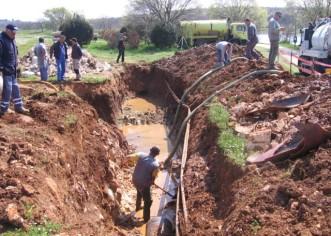 Oštećenje glavnog magistralnog kolektora otpadnih voda u uvali Molindrio