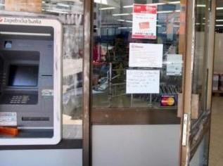 Opljačkan bankomat u Červar Portu