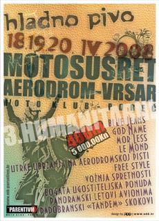 U petak počinje moto susret Aerodrom 2008 u Vrsaru