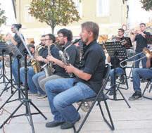 Porečki Big Band na Trgu slobode