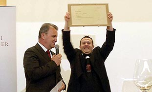 Klaudio Jurčić – obranio titulu najboljeg someliera