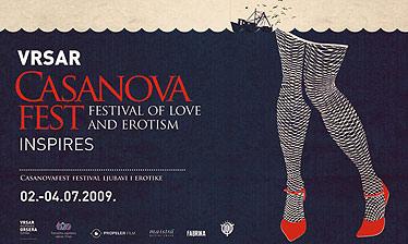Casanovafest – prvi hrvatski festival ljubavi i erotike u Vrsaru