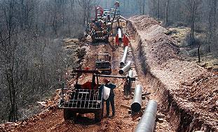 Radovi na plinovodu Vodnjan-Umag krajem travnja