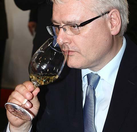 Predsjednik Ivo Josipović posjetio Vinistru