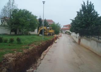 Izgradnja prve faze kanalizacijske mreže u Kukcima