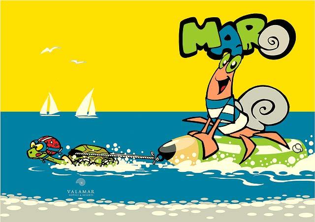 Valamar pokrenuo dječje web stranice – Maro web