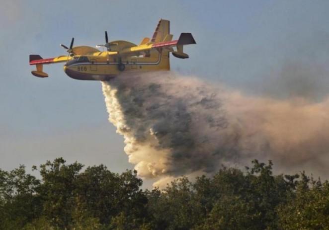 Ugašena dva požara u srednjoj Istri