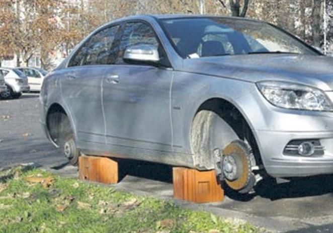 Červar-Porat: Slovencu skinuo sva četiri kotača, BMW postavio na cigle