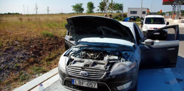 Baderna: Na Ipsilonu se zapalio ford mondeo