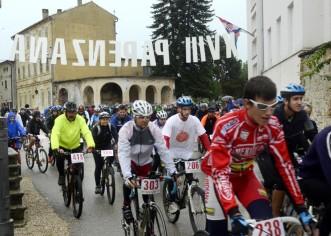 Parenzana: Kiša nije omela bicikliste