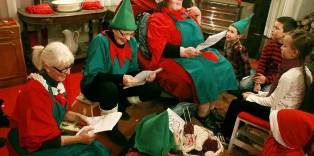Kaštelir: Otvara se Kuća Djeda Mraza