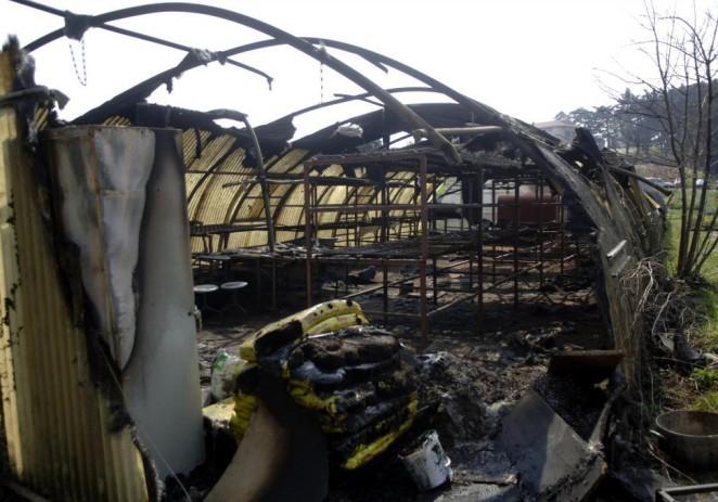 (Opet) izgorio plastenik Instituta za poljoprivredu