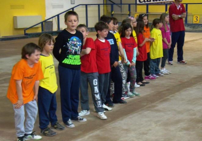 I porečki osnovnoškolci boćaju u školi :)