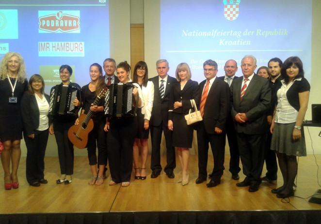Delegacija iz Poreča u Münchenu na proslavi Dana državnosti (vijesti iz gradske uprave)