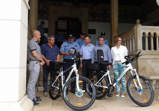"""Predstavljen projekt """"Policajci na biciklima"""""""