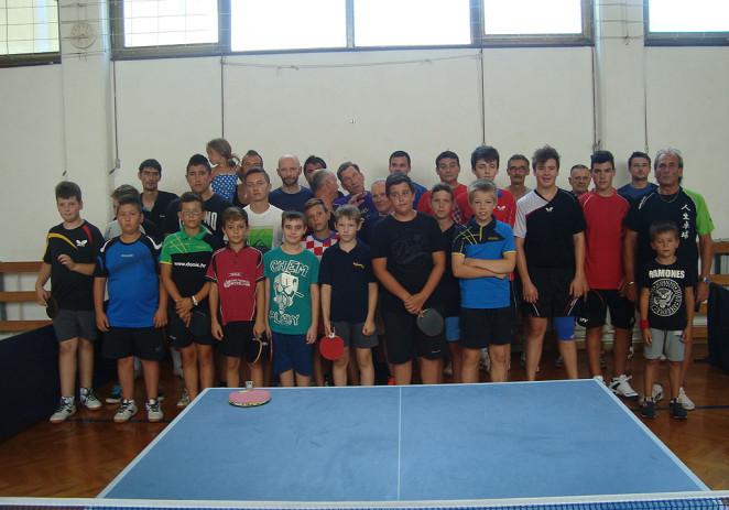 """Stolni tenis : Šušljik Mateo, Antolović J. Karlo i Jakovetić pobjednici """"Lovrečeve 2014"""" ."""