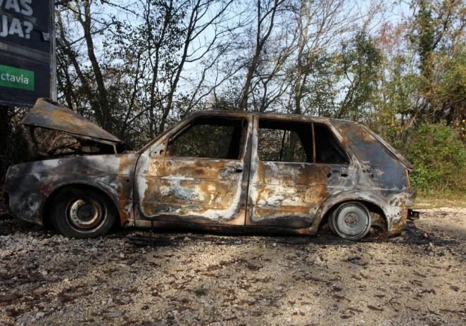Podmetnut požar na automobilu