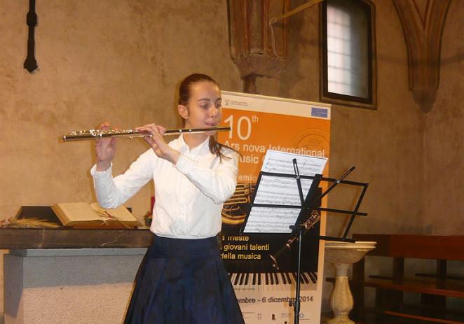 Uspjeh učenika Umjetničke škole Poreč na 10.Međunarodnom natjecanju Ars Nova u Trstu