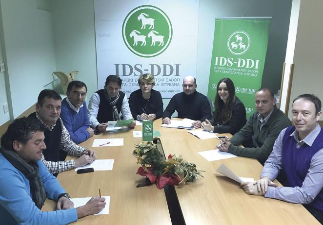 Osvrt članova Predsjedništva IDS-a Poreč na 2014. godinu