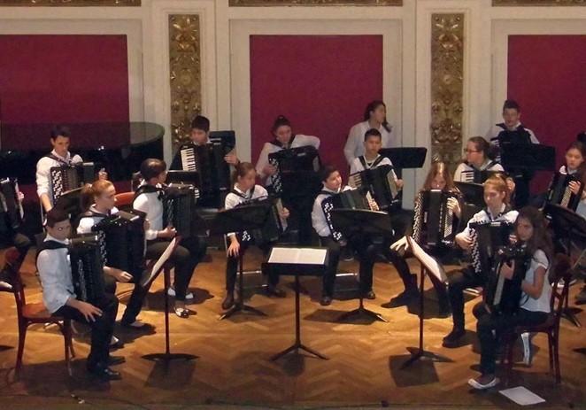 Gostovanje i koncert harmonikaškog orkestra Umjetničke škole Poreč na Prayner Konzervatoriju za glazbenu i dramsku umjetnost u Beču