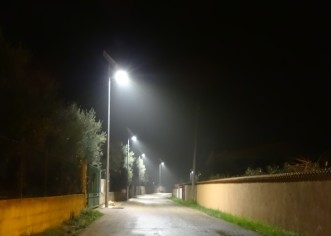 Porečka ulica u Novoj Vasi dobila solarnu LED rasvjetu