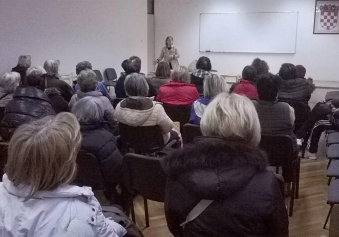 Predvanje u Domu za starije dr. Vesne Janko Radovan