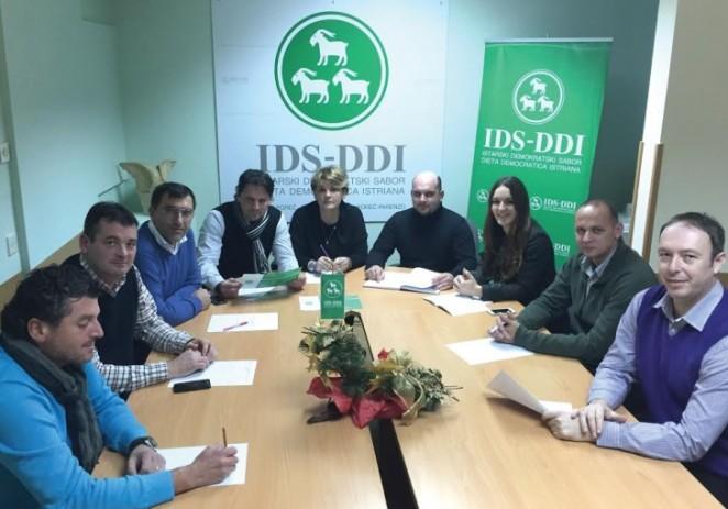 IDS-u deset od deset na izborima u Poreču