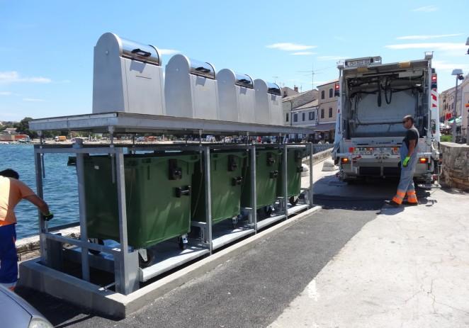 Podzemni kontejneri za odlaganje otpada za ljepšu sliku grada