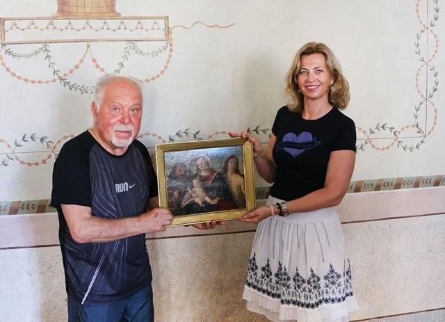 Nakon 80 godina slika Bogorodice sa Sv. Rokom i Sv. Sebastijanom vratila se u Poreč