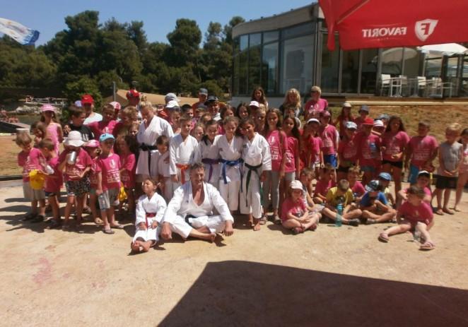 Karatisti Finide prezentirali svoje vještine djeci u gradskom ljetnom kampu