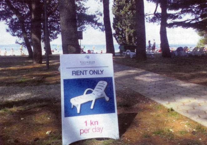 Riviera vratila  plaže na Picalu  i ispod Pinije