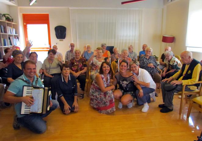 U Domu za starije i nemoćne ispratili španjolsku volonterku Laru