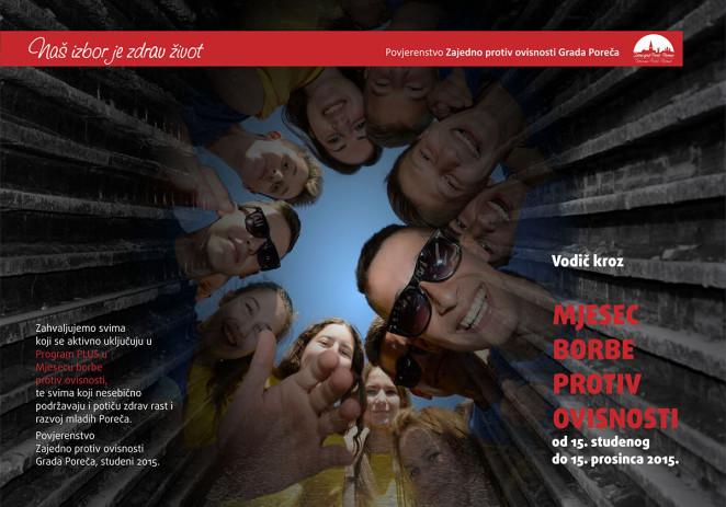 Program Mjeseca borbe protiv ovisnosti u Poreču