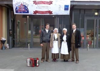 Porečki srednjoškolci promovirali istarske božićne običaje u Luxemburgu