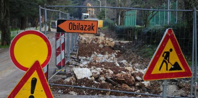 Poreč i okolica postali su veliko gradilište – probni rad uređaja odvodnje početkom 2018.g.
