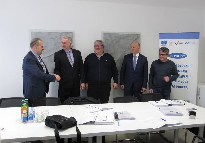 Potpisan i posljednji ugovor u sklopu realizacije EU projekta Poreč – za nabavu opreme za održavanje sustava odvodnje