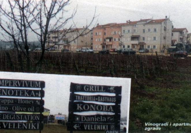 Tamo gdje završava Poreč , nekoliko metara dalje počinje područje mjesnog odbora Varvari