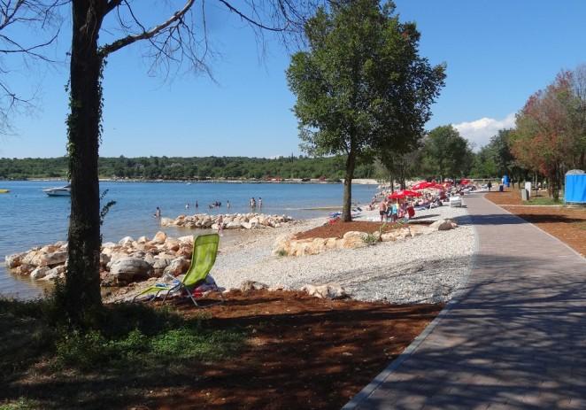Poreču skoro 800.000 kuna za uređenje dviju gradskih plaža