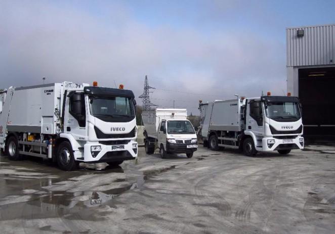 Usluga Poreč nabavila još 3 nova komunalna vozila za sakupljanje otpada